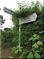 TG3133 : Fingerpost at junction S of Paston Green by Colin Park