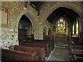 SN1415 : Interior: Llanddewi Velfrey parish church by Dylan Moore