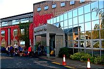 L9984 : Westport - Westport Hotel Entrance by Joseph Mischyshyn