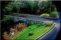 L9984 : Westport - New(port) Road - Hotel Westport - Carrowbeg River & Bridge by Joseph Mischyshyn