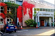 L9984 : Westport- New(port) Road - Hotel Westport - Parking Area near Entrance by Joseph Mischyshyn