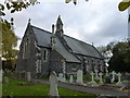 TF4112 : St Paul's church, Gorefield - Rear view by Richard Humphrey