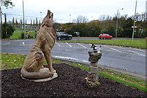 TL8663 : Wolf Sculpture by Keith Evans