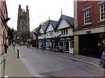 SJ3350 : Church Street, Wrexham by Richard Hoare