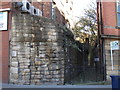 NZ2464 : Town Wall, St. Andrew's Street, NE1 by Mike Quinn