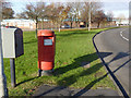 SK6313 : Long Furrow/East Goscote postbox ref LE7 518 by Alan Murray-Rust