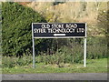 TG2305 : Old Stoke Road sign by Adrian Cable