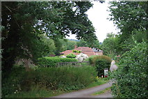 TG2407 : Houses off Whitlingham Lane by N Chadwick