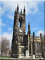 NZ2464 : The Church of St. Thomas The Martyr, Barras Bridge / St. Mary's Place, NE1 - tower by Mike Quinn