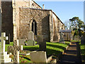 SK6512 : St Mary's Church, Queniborough by Alan Murray-Rust