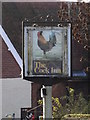 TG2306 : The Cock Inn Public House sign by Adrian Cable