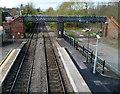 SO5058 : From footbridge to footbridge, Leominster by Jaggery