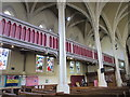 NZ2464 : The Church of St. Thomas The Martyr, Barras Bridge / St. Mary's Place, NE1 - north aisle and gallery by Mike Quinn