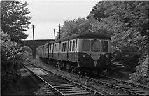 J4681 : MED approaching Crawfordsburn station - 1975 by The Carlisle Kid