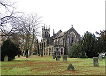 SK3670 : St Thomas's Church in Brampton, Chesterfield by Neil Theasby
