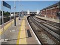SU6500 : Fratton railway station, Hampshire by Nigel Thompson