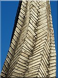 SK3871 : Chesterfield's crooked spire - detail view by Neil Theasby