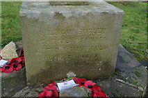 SE0361 : The War Memorial at Burnsall, Yorkshire by Ian S