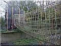 SK6008 : Rope and timber bridge by Mat Fascione