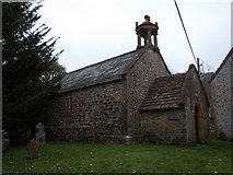 ST5906 : Stockwood: England's smallest parish church by Chris Downer