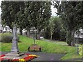 O1636 : Statue by the Tolka River in Drumcondra Road Lower by Eric Jones