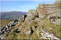SO2718 : Rocky crags on Sugar Loaf by Philip Halling