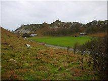 SS7049 : The Valley of Rocks by Jonathan Billinger
