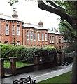 O1636 : Victorian terraced villas in Carlingford Road, Drumcondra by Eric Jones