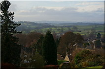 SK2572 : View over Baslow by Peter Barr