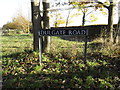 TM2891 : Dulgate Road sign by Adrian Cable
