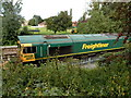 ST2125 : Freightliner diesel 66622 propelling a track maintenance train in Taunton by Jaggery