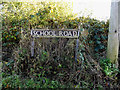 TM2892 : School Road sign by Adrian Cable