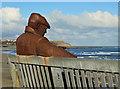 TA0489 : Freddie at low tide by Pauline E