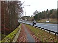 NZ2178 : A1 approaching Stannington Bridge by Oliver Dixon