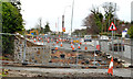 J3683 : Road construction, Jordanstown (3) by Albert Bridge