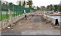 J3784 : Road construction, Jordanstown/Greenisland (1) by Albert Bridge