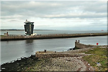 NJ9505 : Mouth of the River Dee by Mary and Angus Hogg
