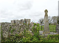 SN0403 : Cross and Carew Castle by Chris Allen