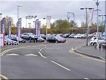 SO9297 : Car road by Gordon Griffiths