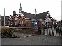 SP3265 : Leamington Spa-Clapham Terrace School by Ian Rob
