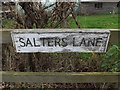 TM3775 : Salters Lane sign by Adrian Cable