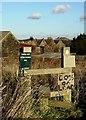 SE2803 : Stile near Knabbe's Hall Farm by Neil Theasby