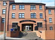 SK3488 : St Bartholomew's Church Apartments, Burgoyne Road, Sheffield - 2 by Terry Robinson