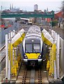 J3272 : Train, Adelaide maintenance depot Belfast by Rossographer