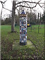 TM3877 : Sculpture in Town Park by Adrian Cable