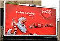 J3673 : Coca-Cola Christmas poster, Belfast (2013) by Albert Bridge