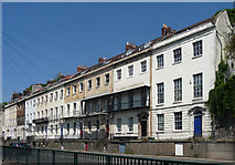 ST5672 : St Vincent's Parade, Hotwell Road, Bristol by Stephen Richards