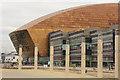 ST1974 : Wales Millennium Centre by Richard Croft
