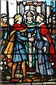 SP1579 : St Alphege reconciling the Kings by Tiger