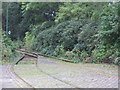 SD8303 : Tram lines, Heaton Park, Manchester by Tricia Neal